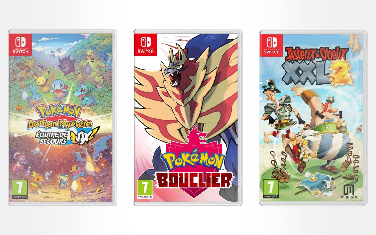 set of 3 cheap Nintendo Switch games