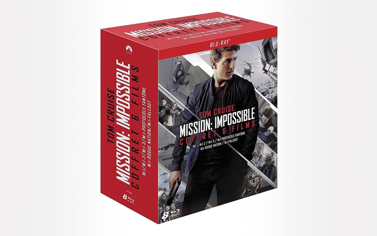 Mission Impossible coffret Blu-ray