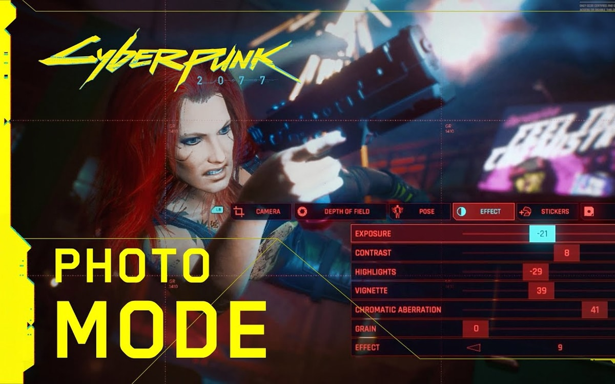 cyberpunk mode photo