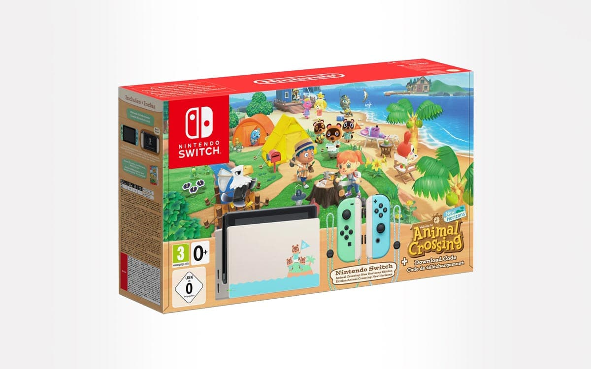 Black Friday Nintendo Switch Animal Crossing New Horizon