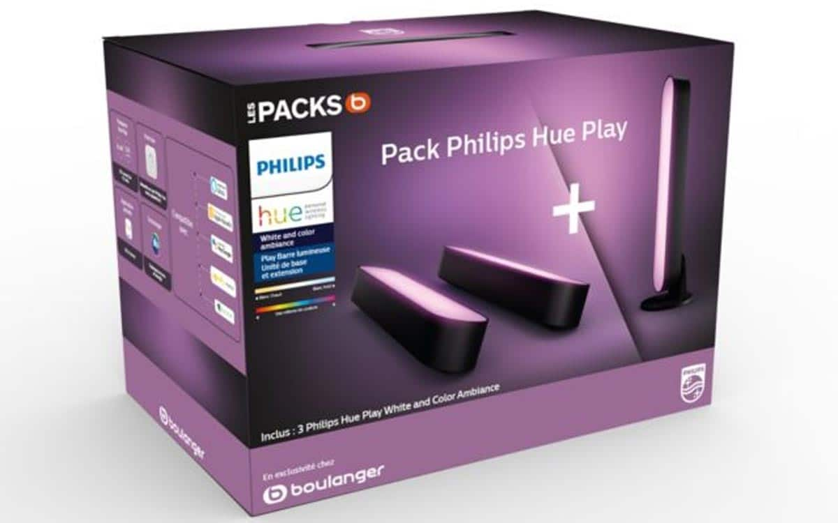 Pack Philips Hue Play x3