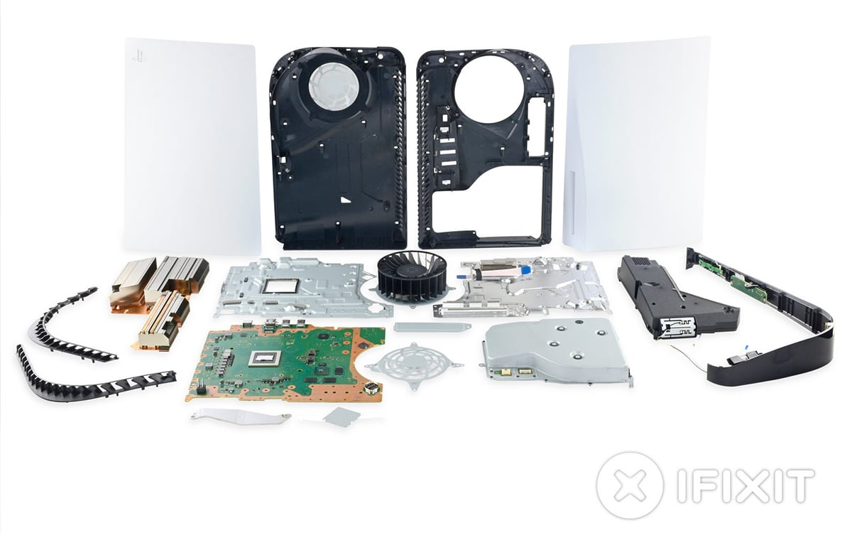 PS5 démontage