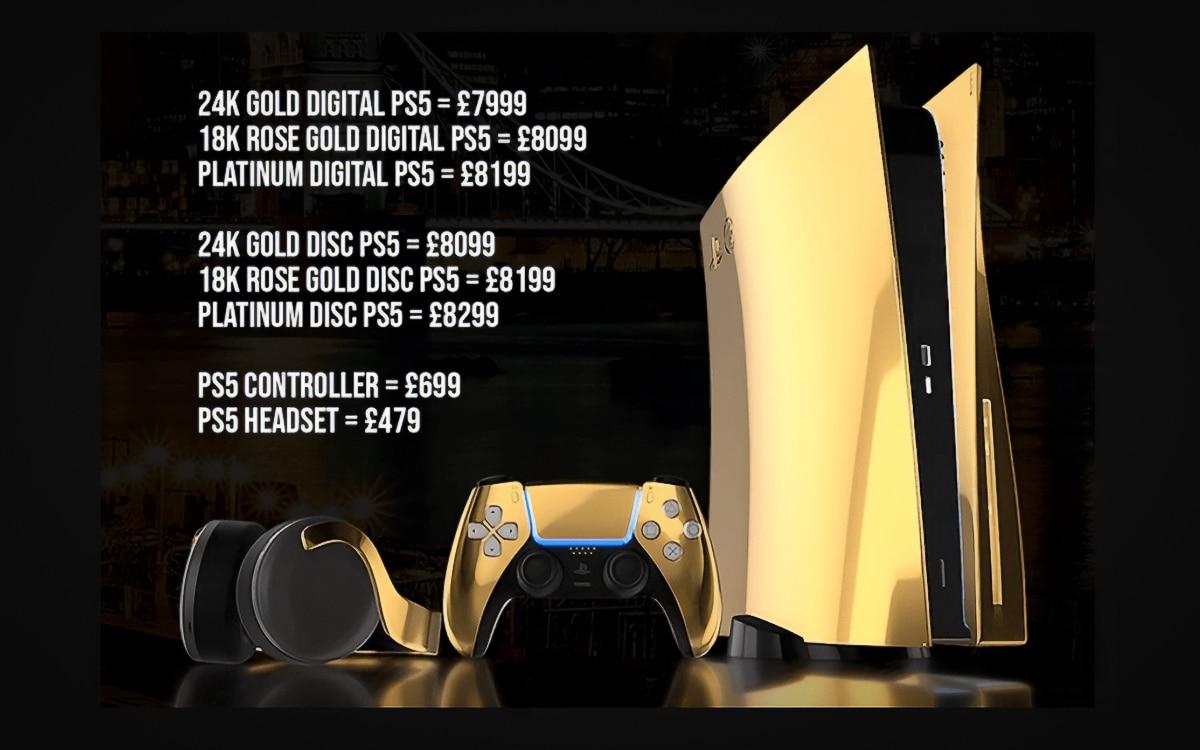 PS5 or 24 karats
