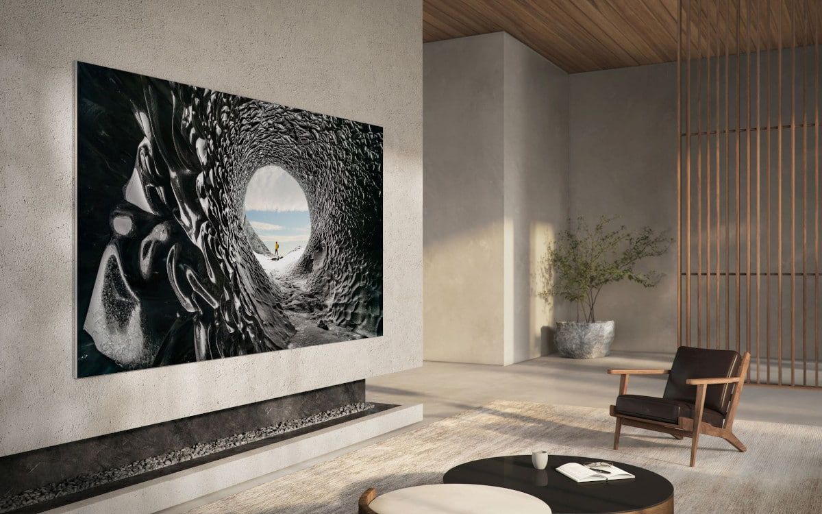 samsung television microled 4k 110 pouces 1