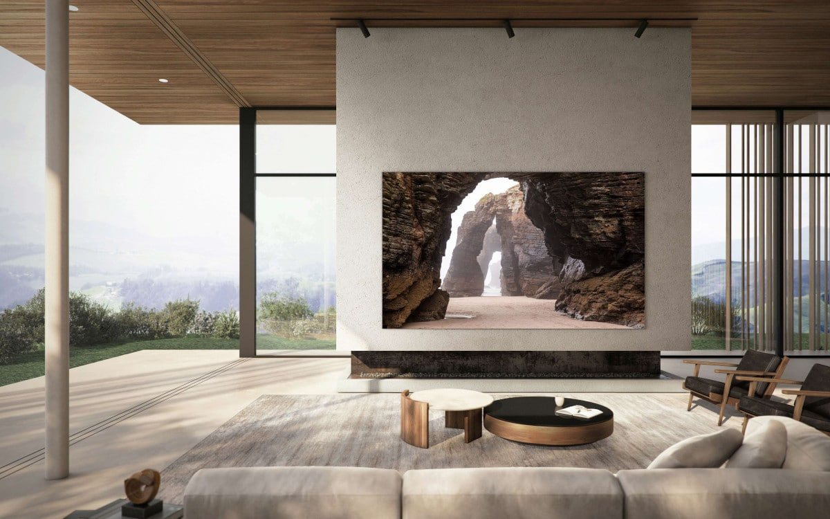 samsung television microled 4k 110 pouces 2