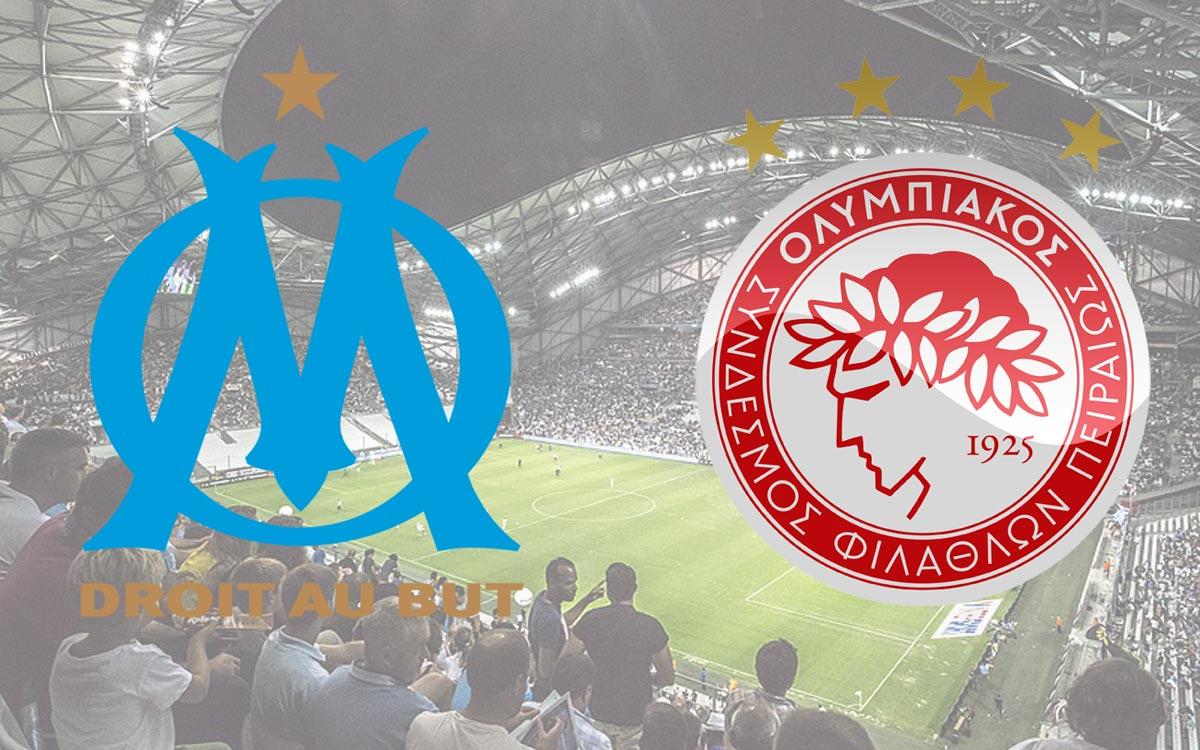 Streaming OM Olympiakos : chaîne et heure