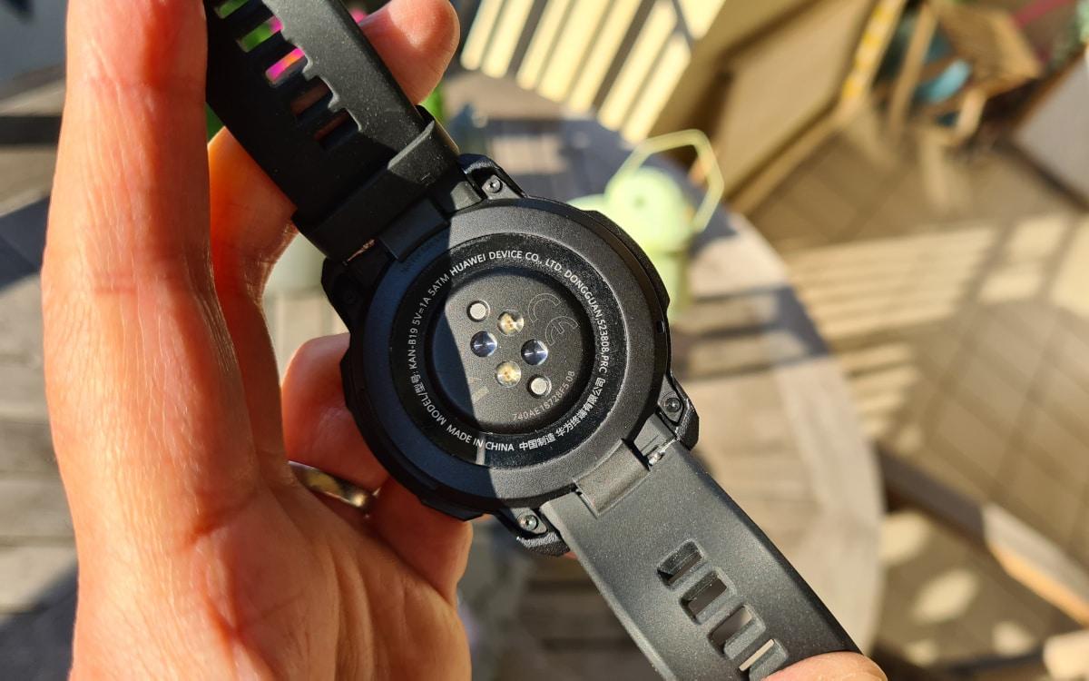 test honor watch gs pro sensor 2