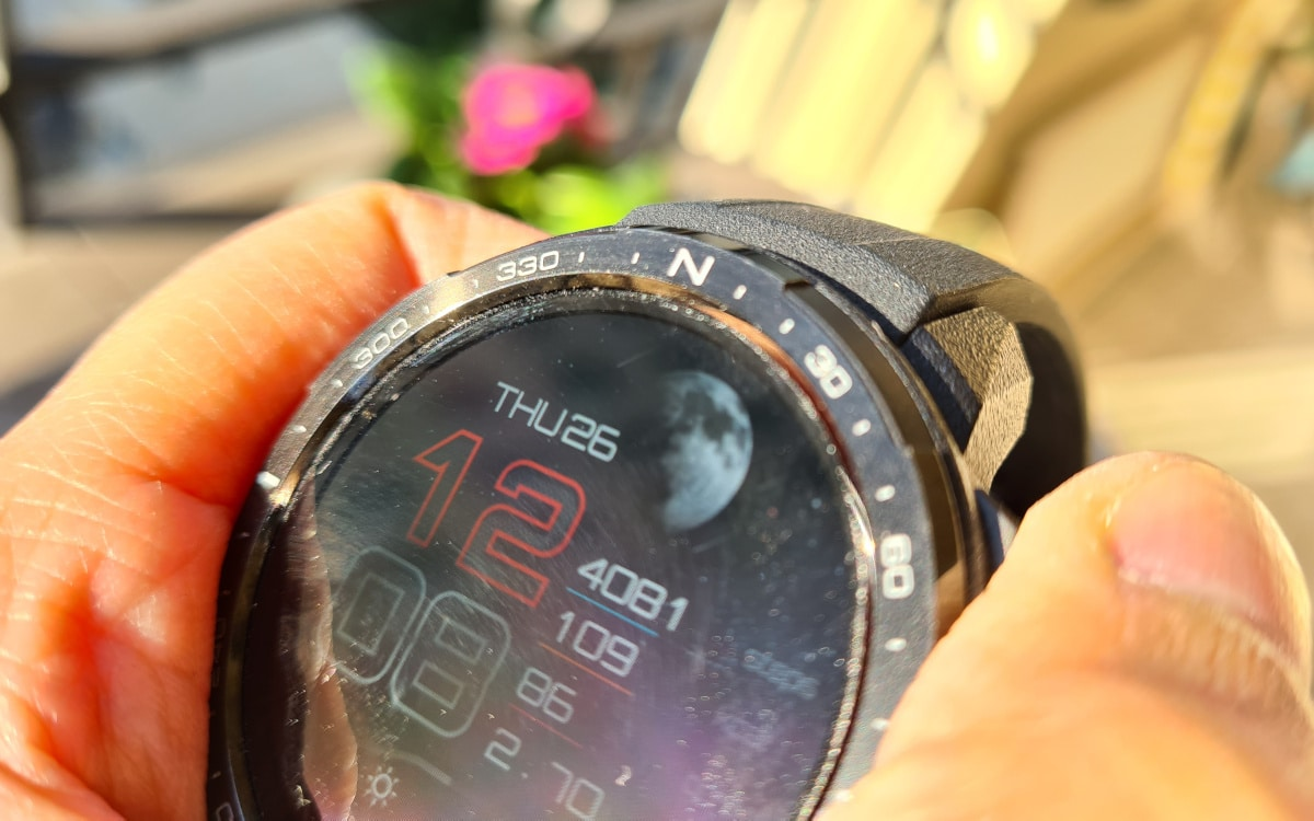 test honor watch gs pro design 4
