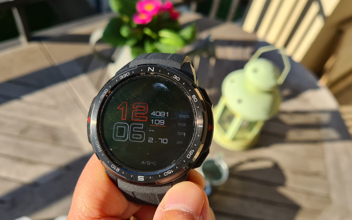 test honor watch gs pro ecran 1