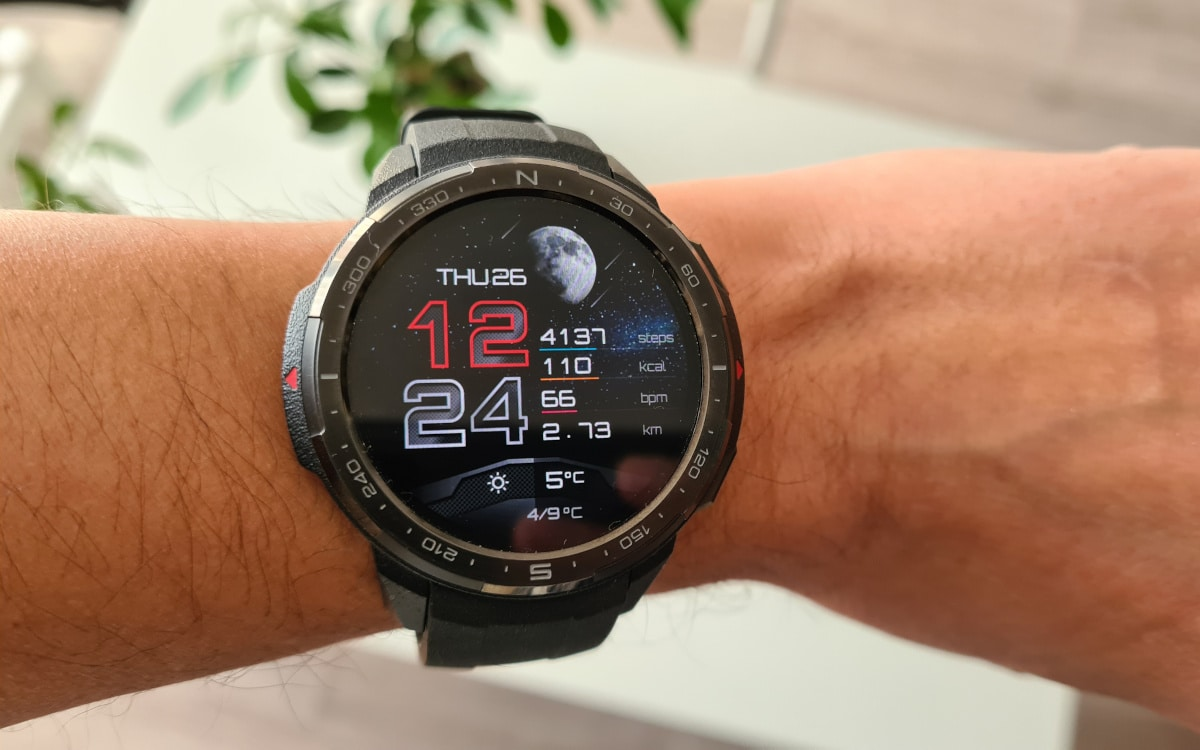 test honor watch gs pro interface 1