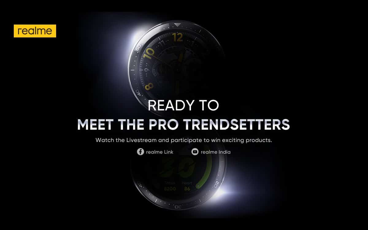 Realme Watch S Pro teaser