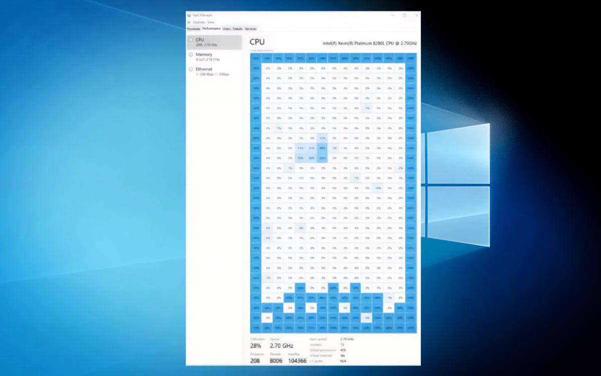 Windows 10 Tetris Gestionnaire