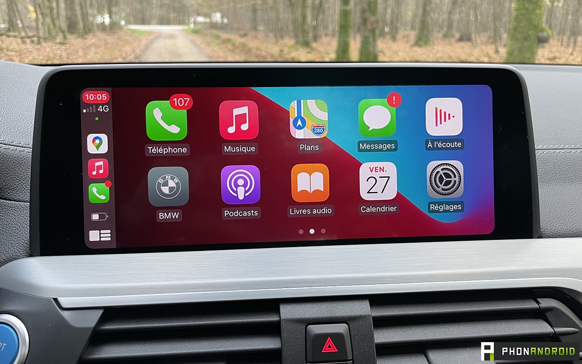 BMW iX3 Carplay