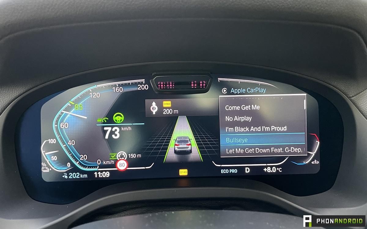 BMW iX3 Carplay recall