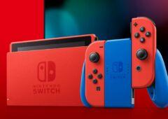 Nintendo Switch edition limitee Mario
