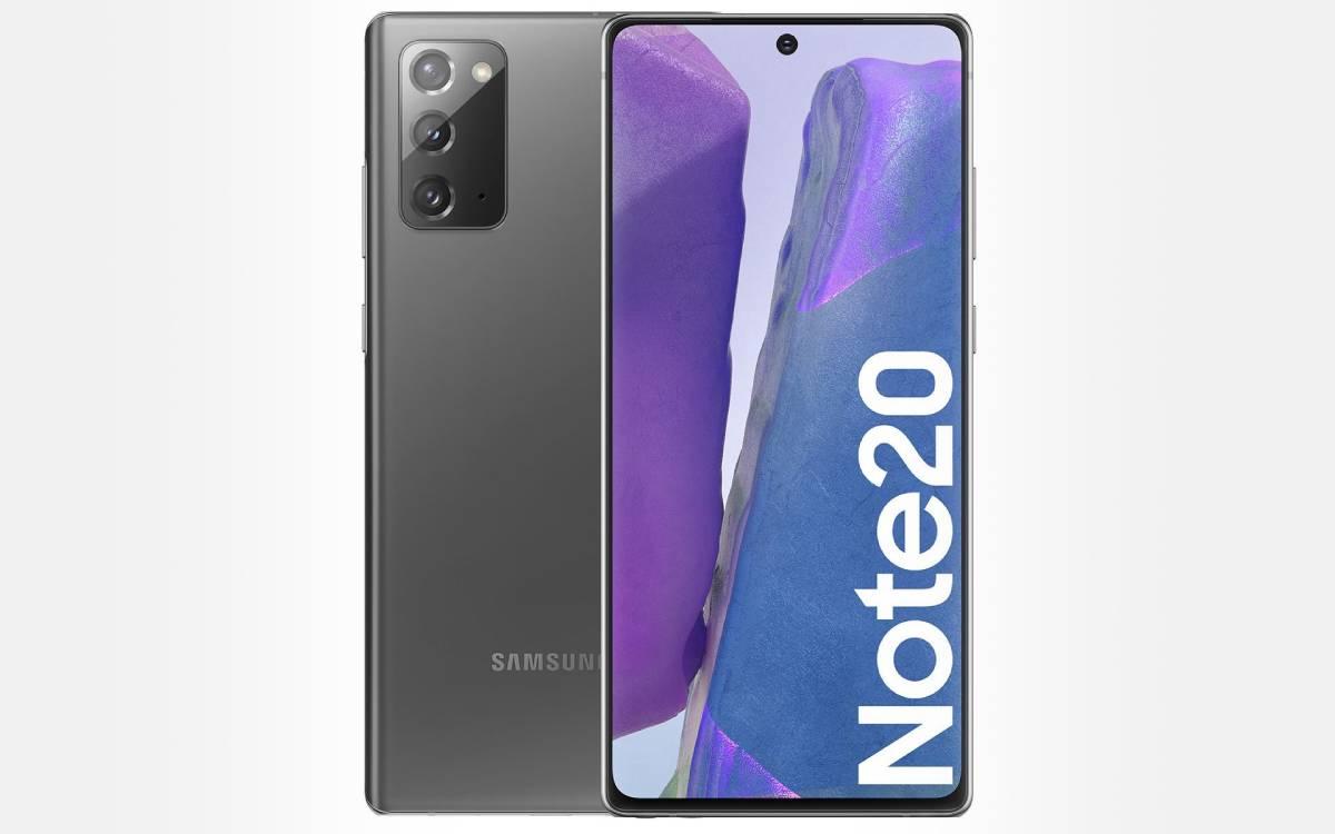 Samsung Galaxy Note 20 en promo