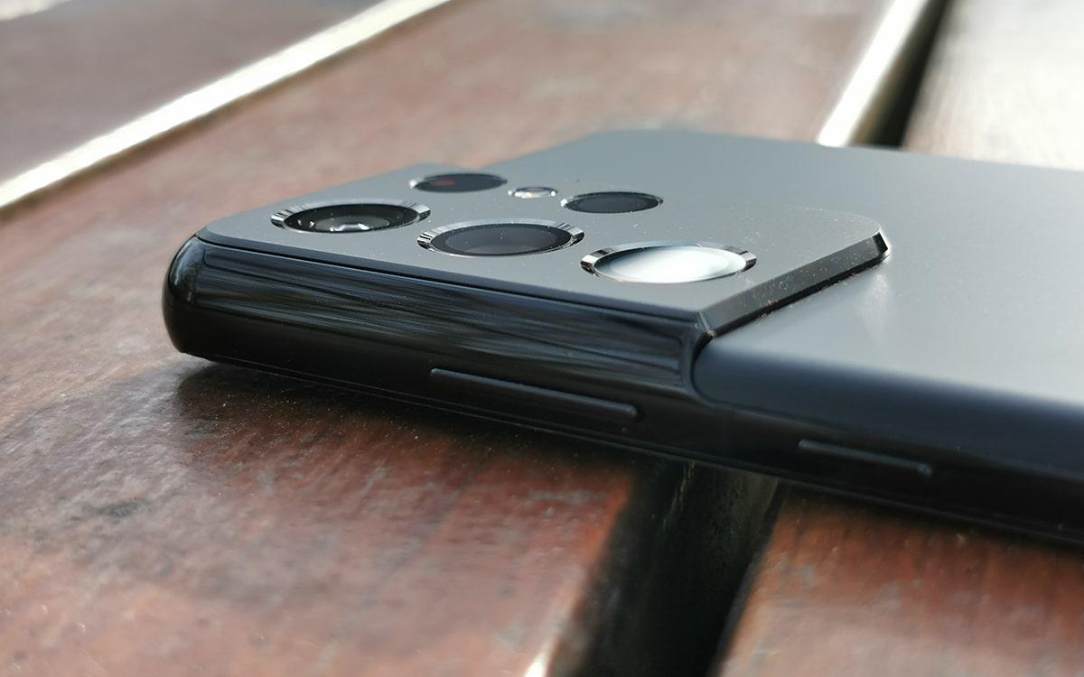 Samsung Galaxy S21 Ultra arriere capteurs photo