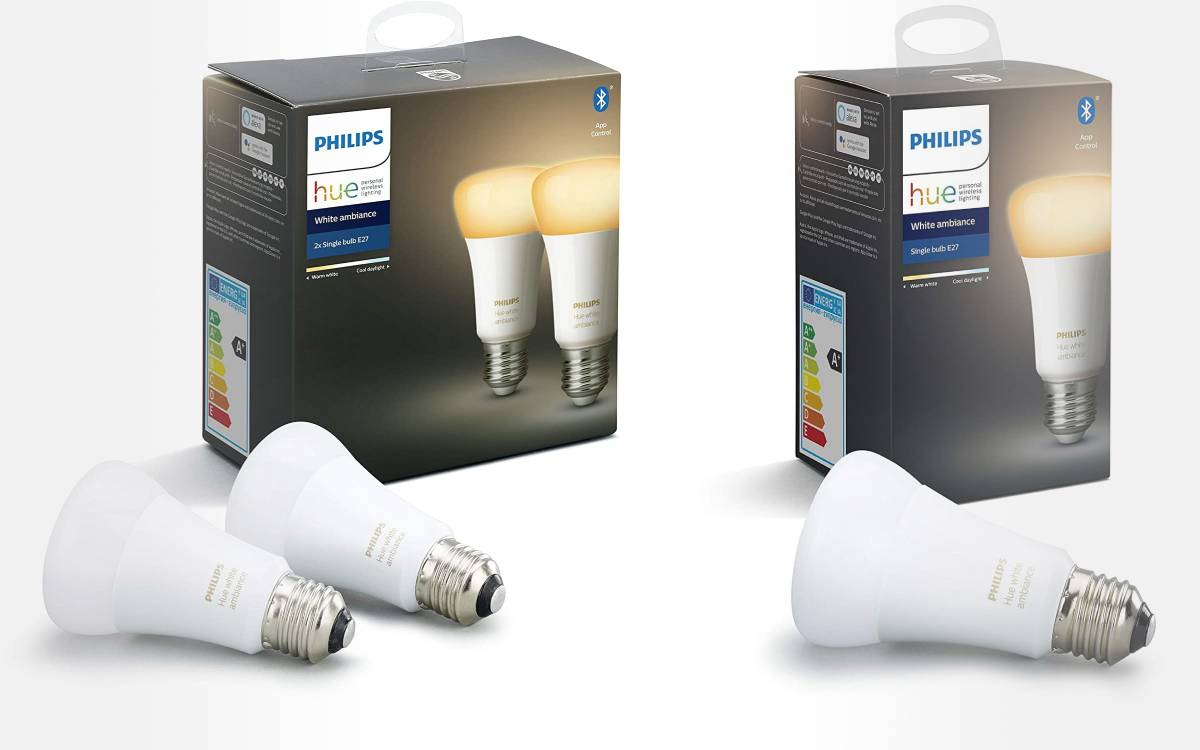 ampoules LED Philips Hue E27 en promo