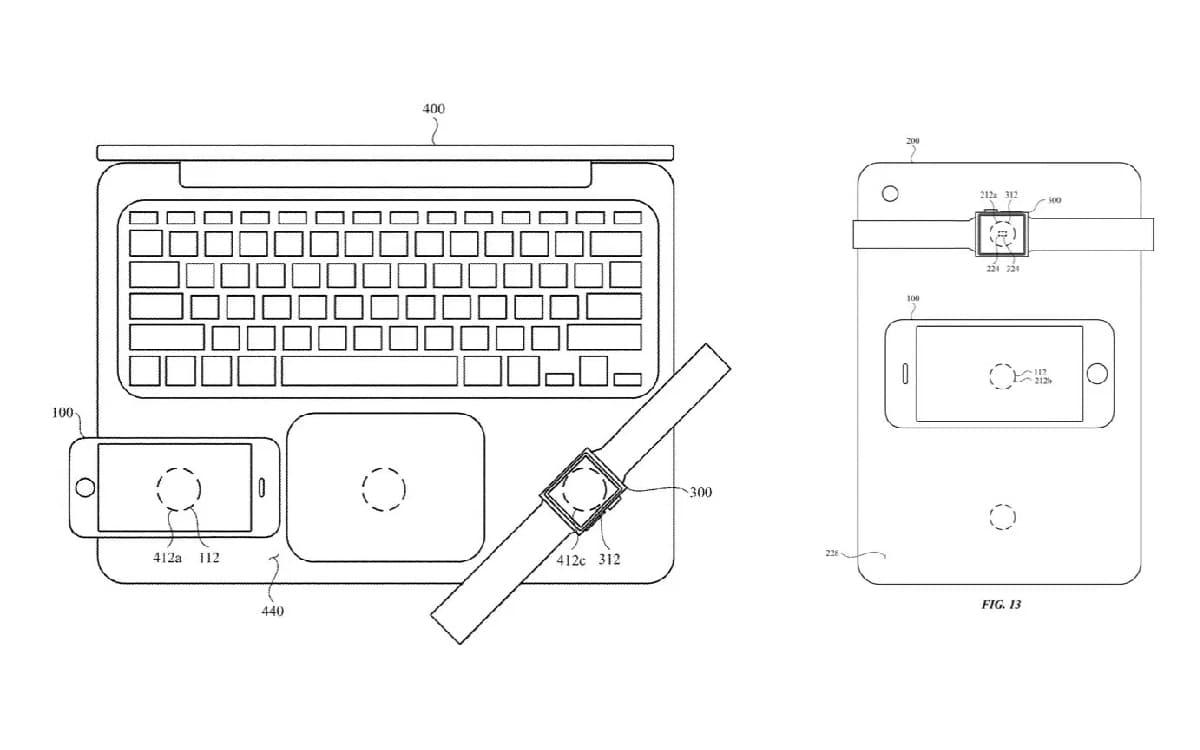 brevet Apple Macbook recharge inversée