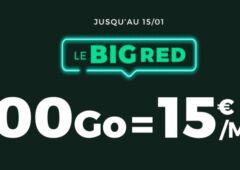 big red 200Go