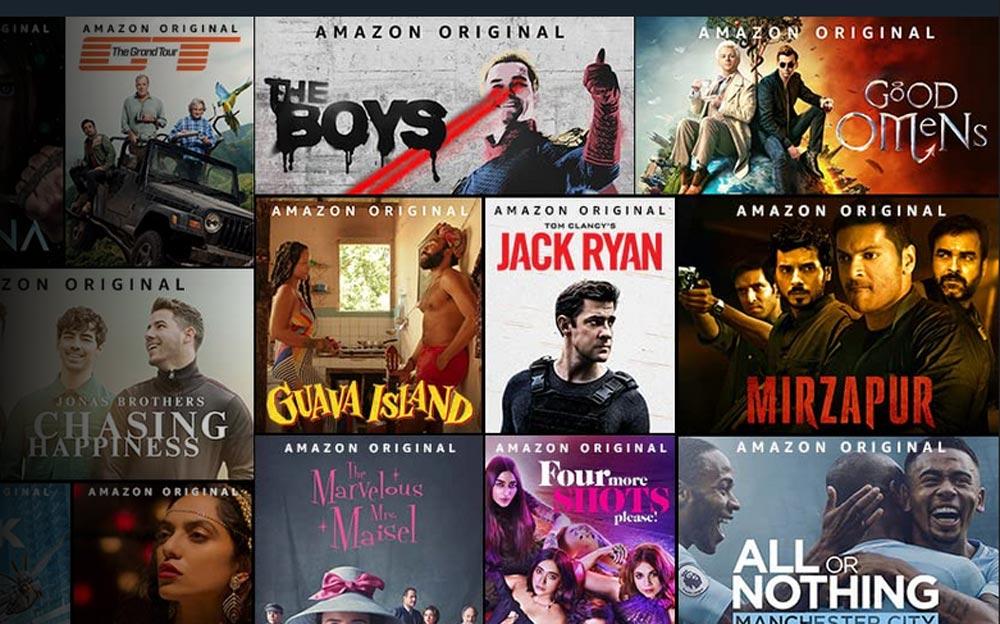 Catalogue Amazon Prime Video