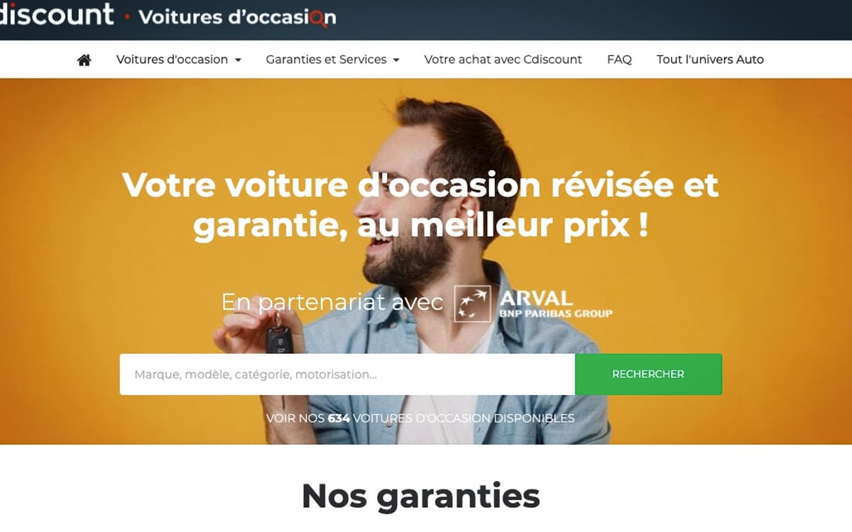 Cdiscount voiture occasion