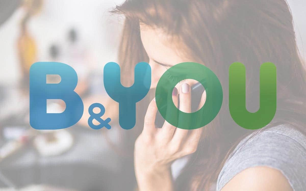 Forfait mobile B&You