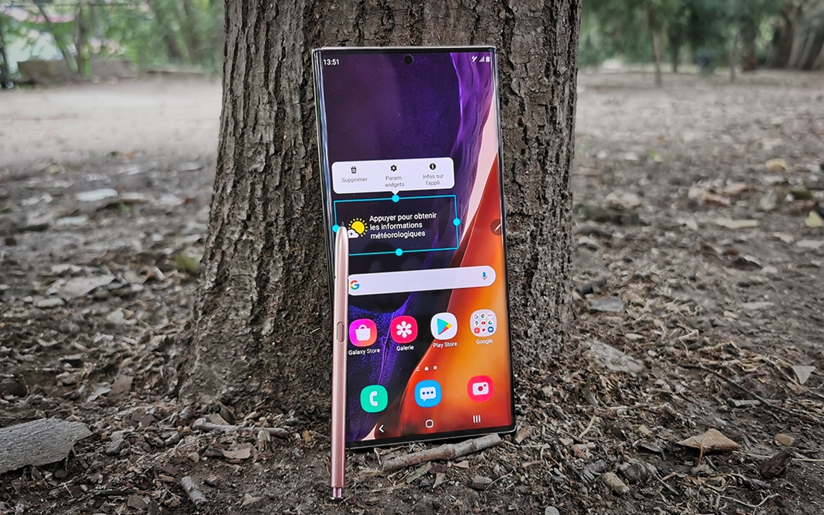 Galaxy Note 20 Display DxOMark