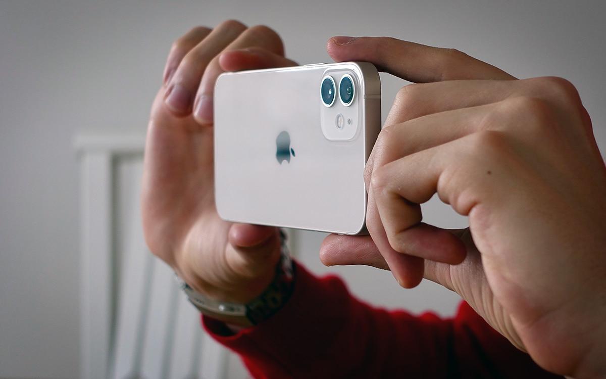 iPhone 12 capteurs photo