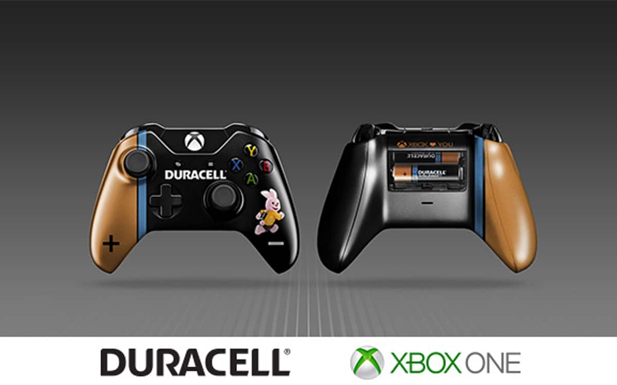 manette xbox duracell