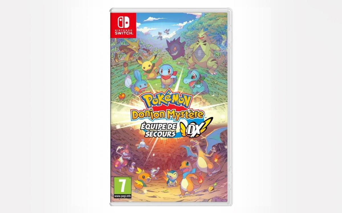Soldes Nintendo Switch Pokémon Donjon Mystère Equipe de secours DX