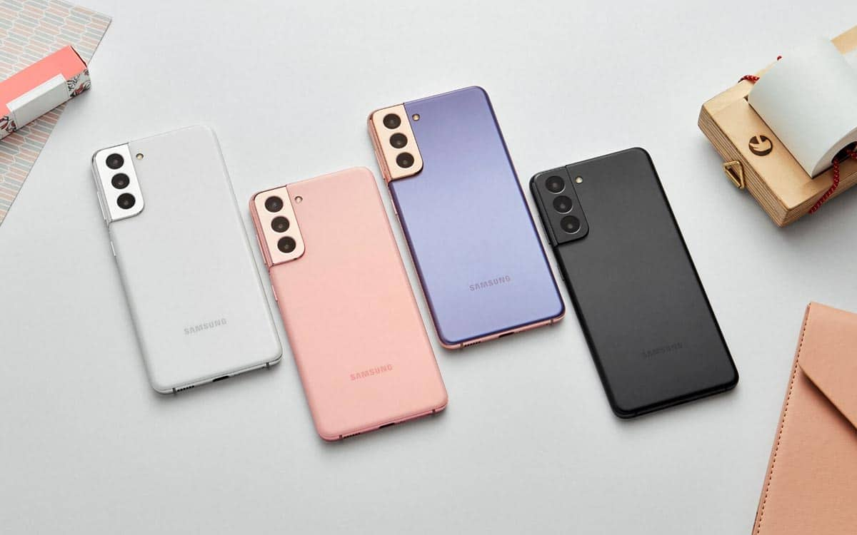 Galaxy S21 design