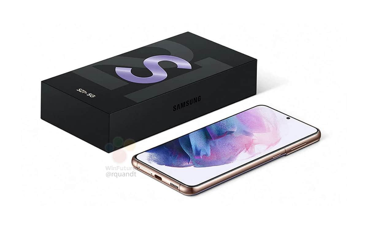 galaxy s21 box