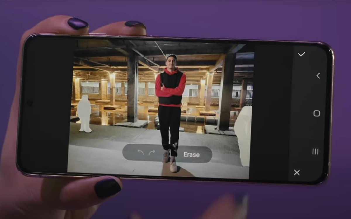 Samsung Object eraser Unpacked 2021