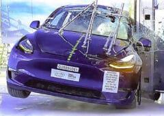 tesla crash test