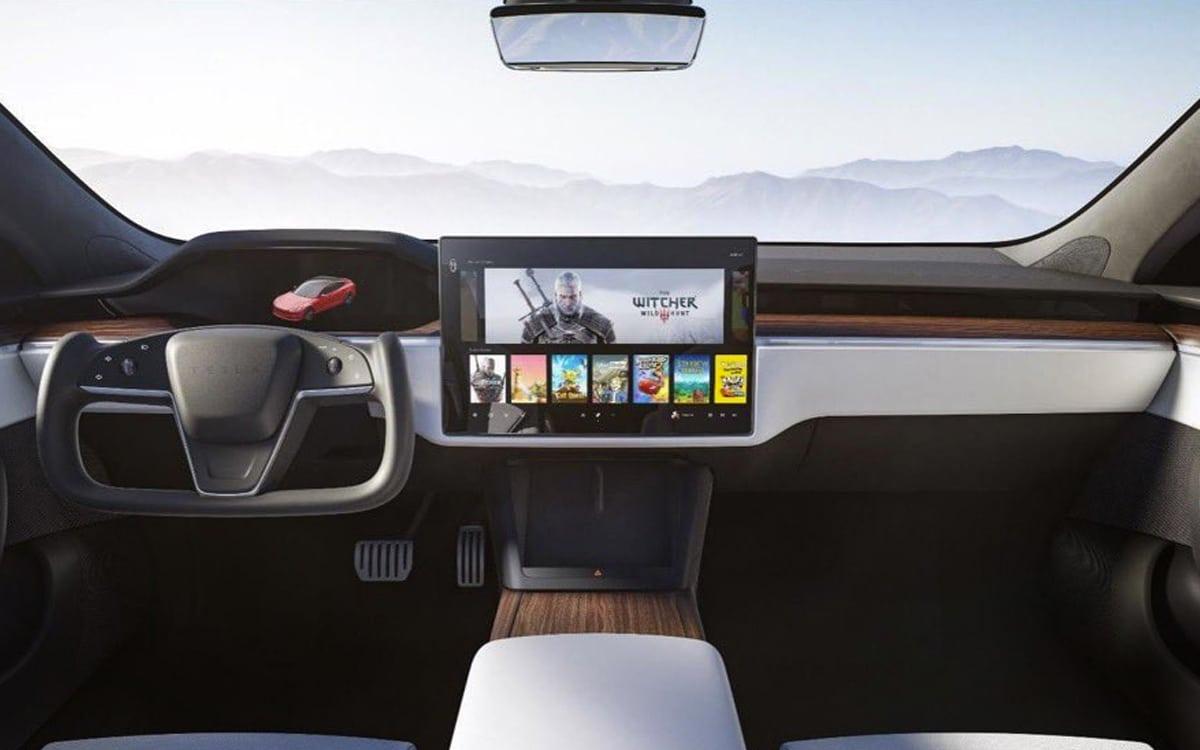 Tesla Model S intérieur