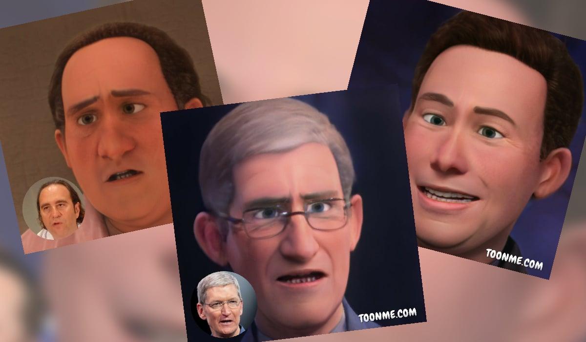 ToonMe application Pixar