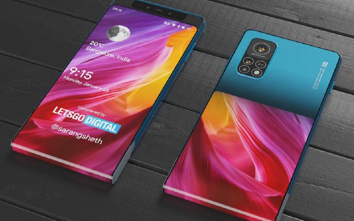 Xiaomi brevet ecran coulissant