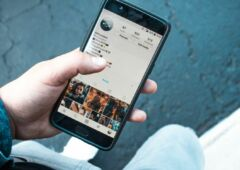 Instagram contenu recemment efface