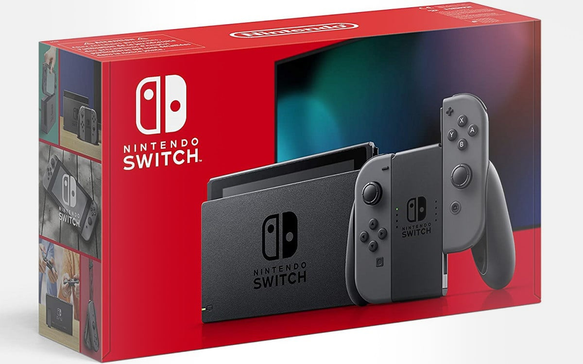 Nintendo Switch grise