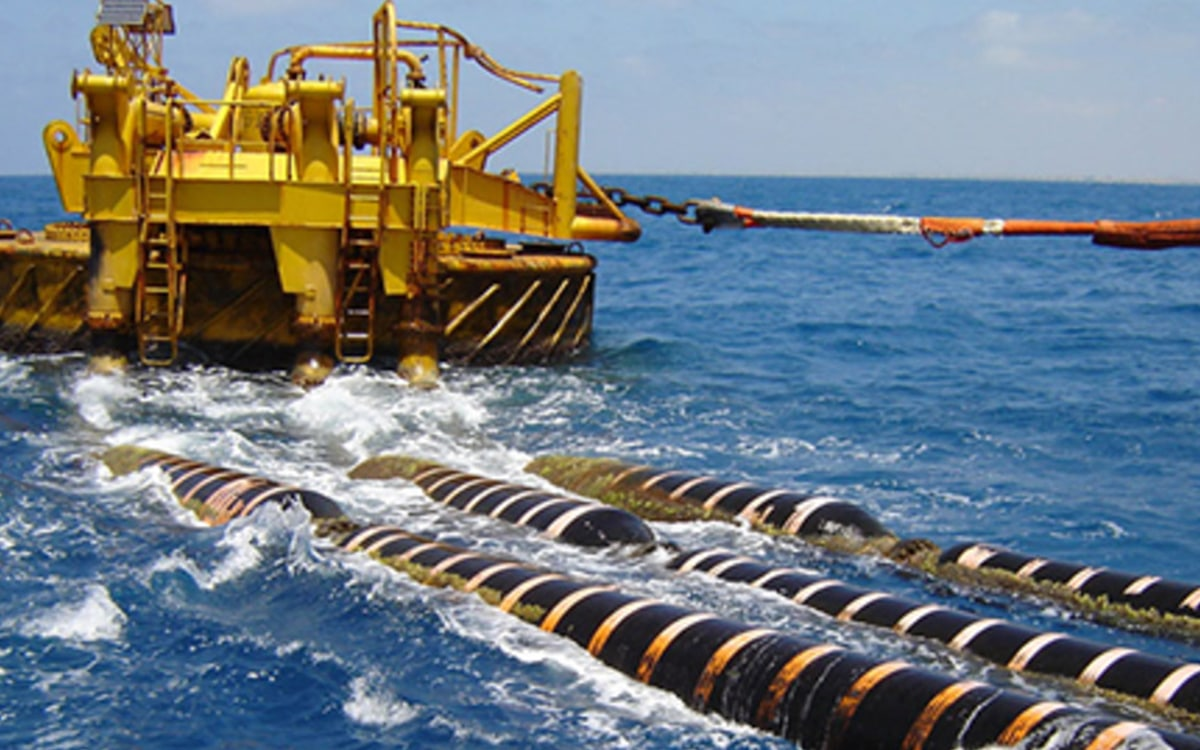 Plateforme maritime installation cable google