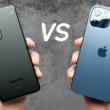 Samsung Galaxy S21 Ultra vs iPhone 12 Pro Max test de chute