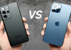 Samsung Galaxy S21 Ultra vs iPhone 12 Pro Max test de chute