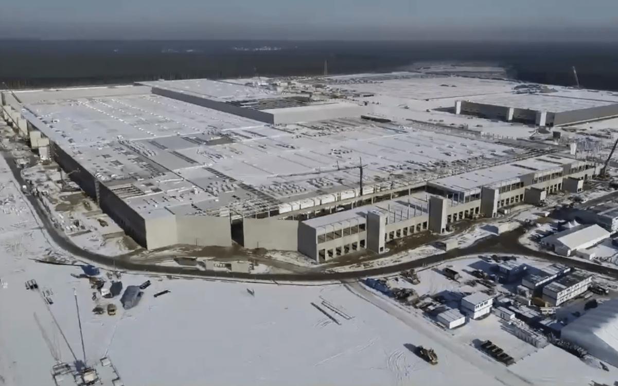 Tesla usine Berlin