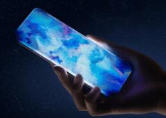 Xiaomi concept phone quatre bords incurves