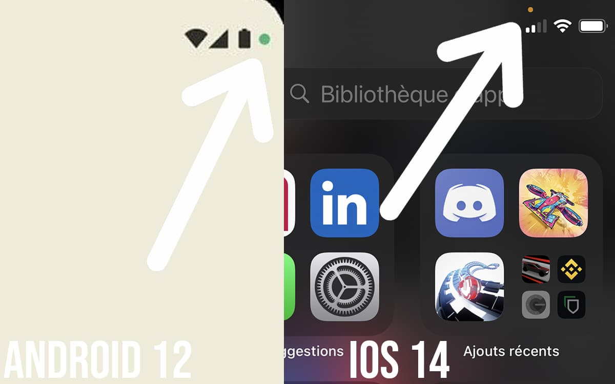 android 12 google inspire ios 14