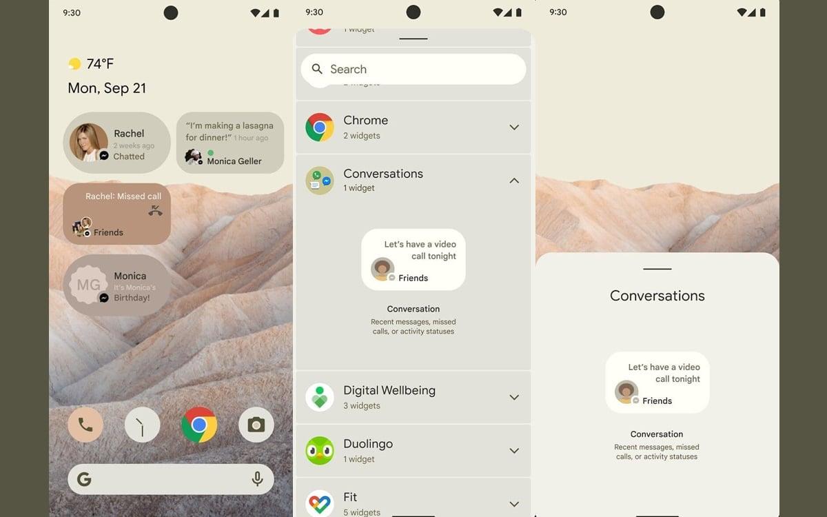 Android 12 : une fonction cachée montre que Google veut révolutionner les services de messagerie - PhonAndroid