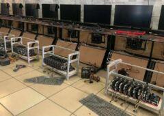 cybercafé ferme de minage