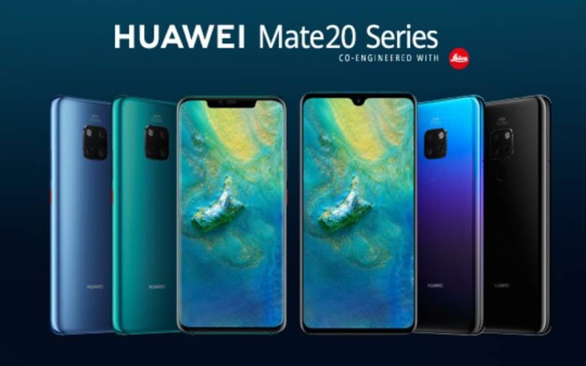 huawei mate 20 series mise à jour EMUI