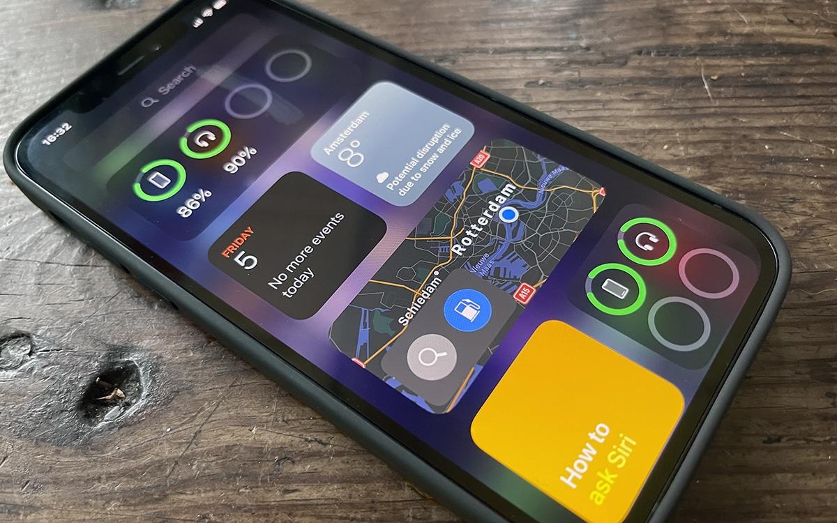 iPhone 12 Widgets